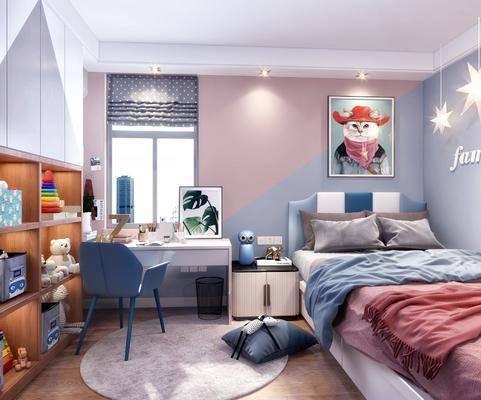 現代臥室, 北歐臥室, 兒童房