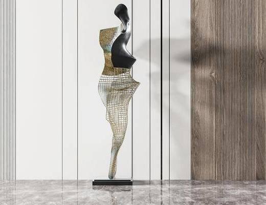 �F代雕塑