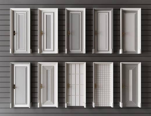 门, 构件, 门构件, 简欧门