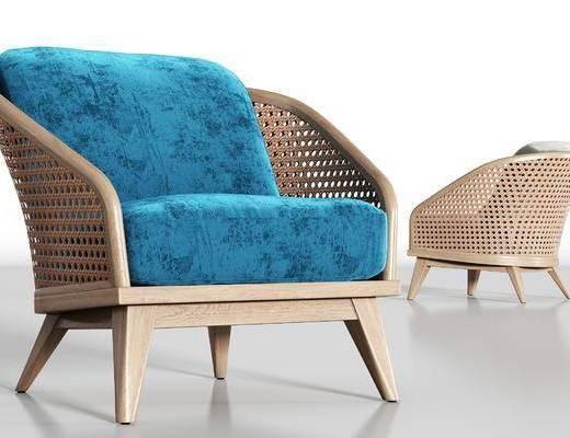 藤椅, 单椅, 休闲椅