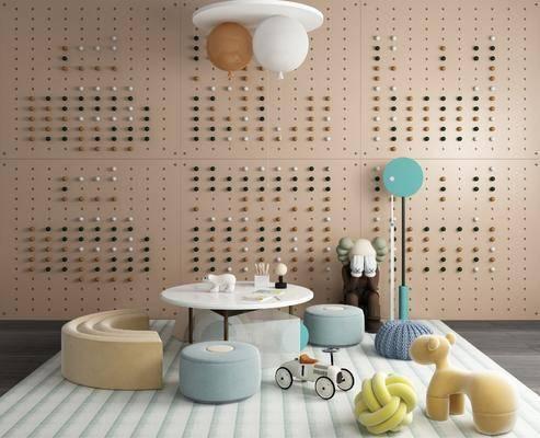 兒童椅, 組合, 玩具桌
