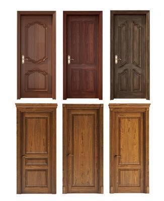 单开门, 木门, 实木门