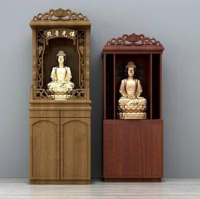 中式佛像, 雕像, 雕塑, 佛系