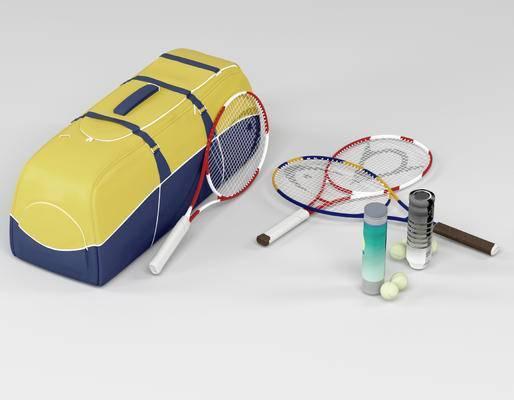 球拍袋, 现代, 球拍, 网球, 体育器材, 体育用品