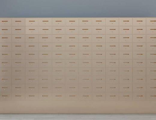 储物柜, 现代