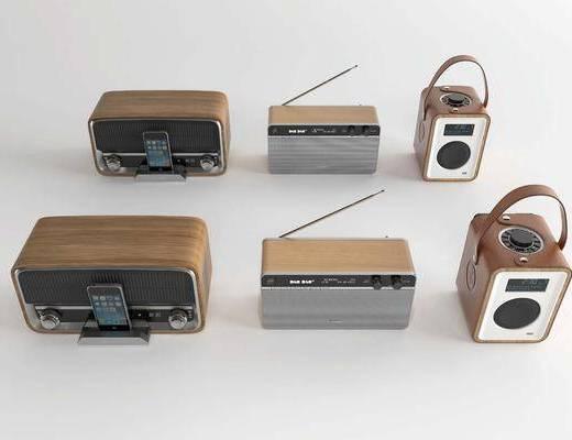 收音机, 电器, 机器