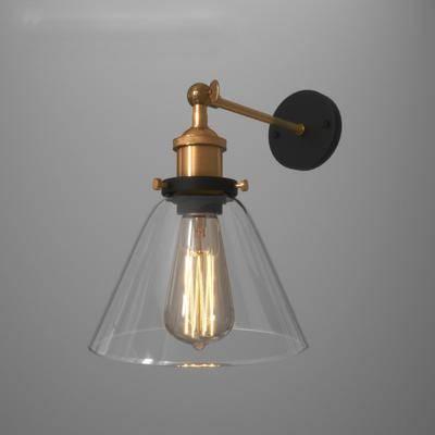现代壁灯, 金属壁灯, 壁灯, 灯