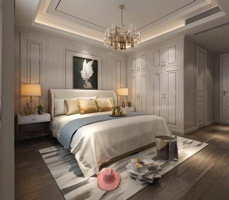 臥室, 床具組合, 現代