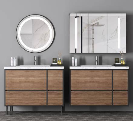 卫浴组合, 柜架组合, 洗浴组合, 洗手盆