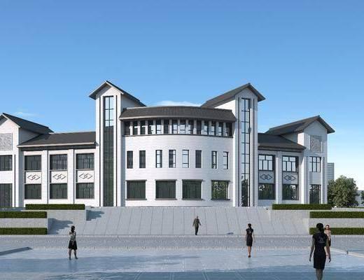 综合楼, 商业办公楼, 综合服务楼, 青少年活动中心, 老年人活动中心