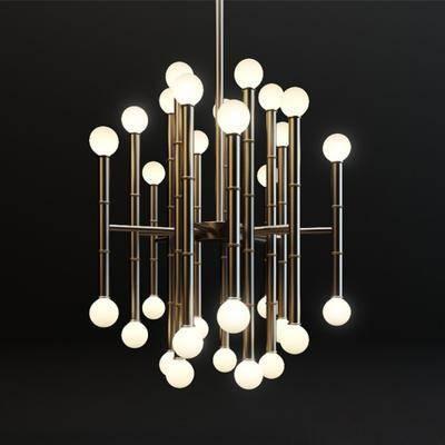 吊灯, 灯, 灯具, 现代, 后现代