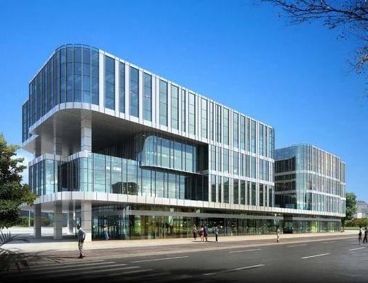 现代商务办公楼, 办公楼, 现代, 现代商务楼, 现代办公楼, 建筑