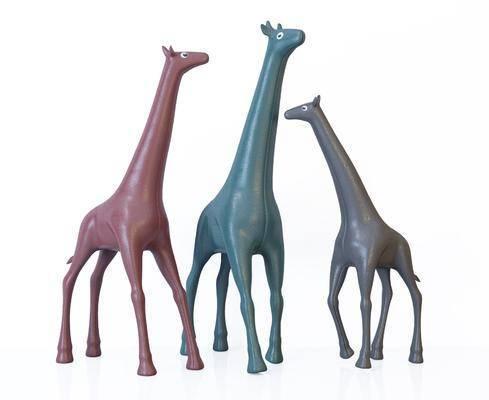 现代风格玩具, 长颈鹿