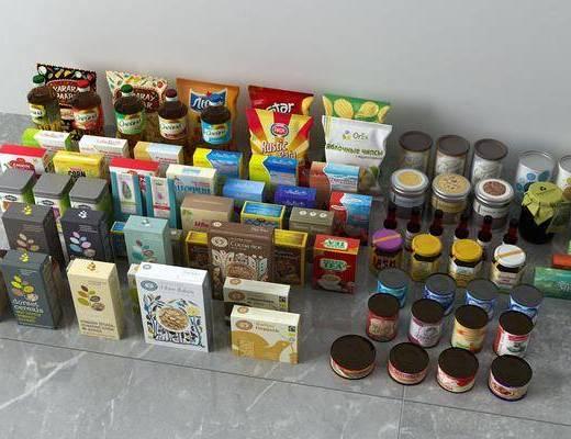 罐头零食, 食物, 现代