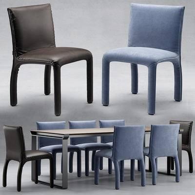 餐桌椅, 现代