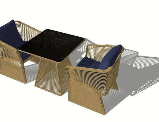 户外椅, 单椅, 景观椅