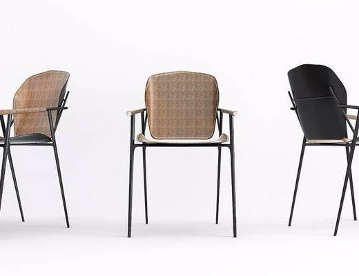 单椅, 现代单椅, 现代, 休闲椅