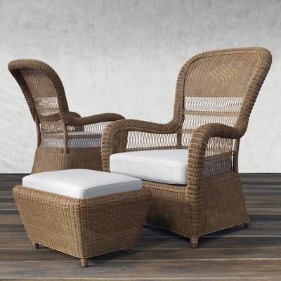 现代, 藤椅