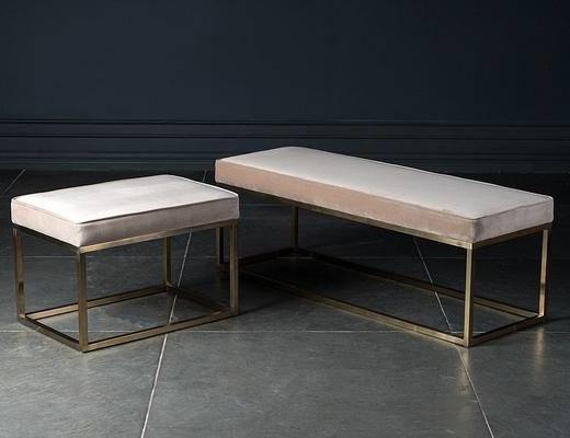 现代, 床尾凳, 单体