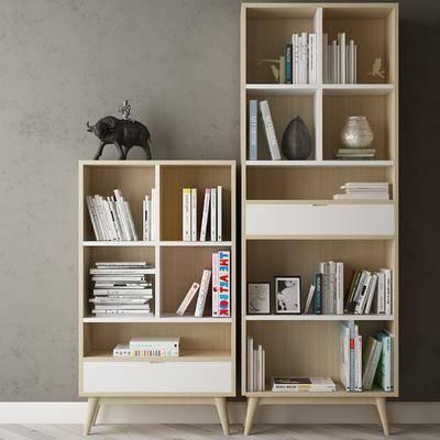 现代书架, 书柜