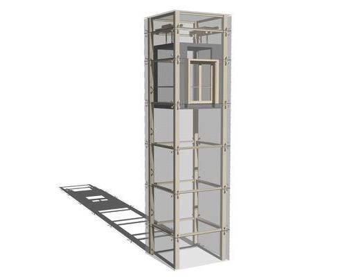 电梯厅, 观光电梯