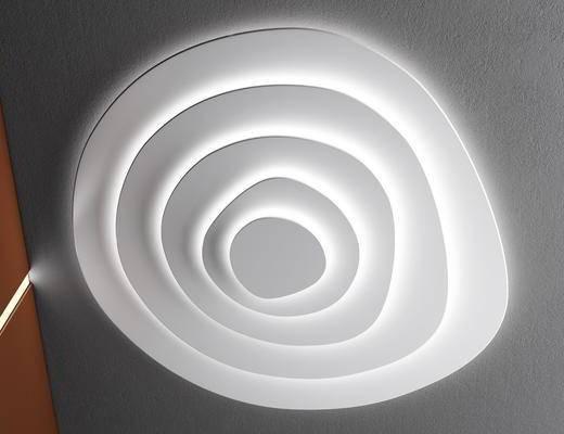 吸顶灯, 灯具, 单体