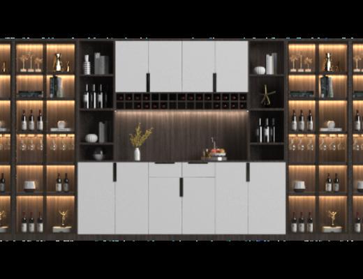 酒柜, 柜架组合