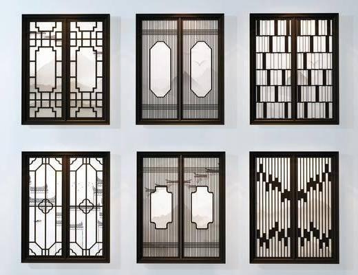 窗户, 中式窗户