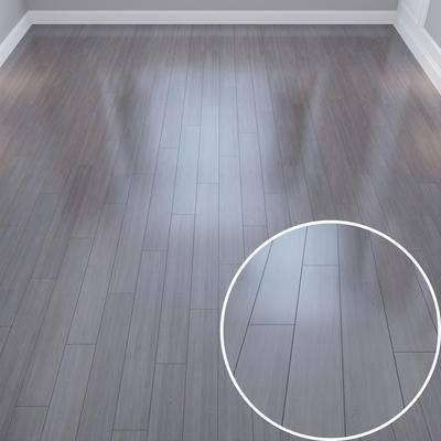 工字拼木地板材质, Vray材质, 木纹材质