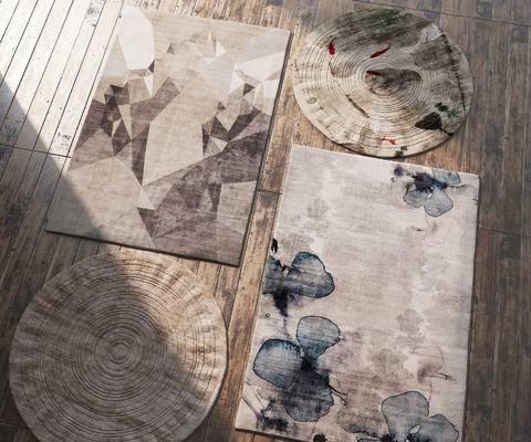 圆毯, 方毯, 地毯, 布艺地毯