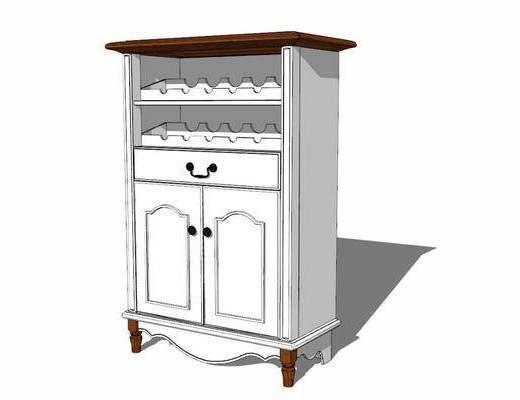 酒柜, 柜架组合, 置物柜