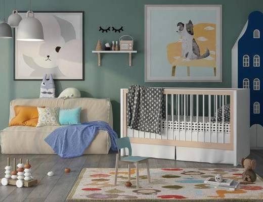 北歐嬰兒床, 嬰兒床