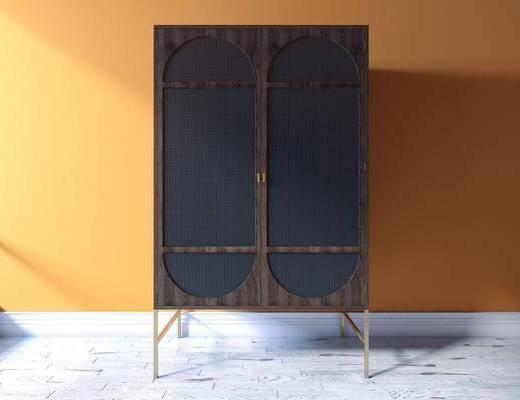 柜子, 衣柜, 置物柜, 装饰柜架