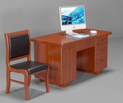 员工桌, 单人椅, 办公椅, 电脑桌