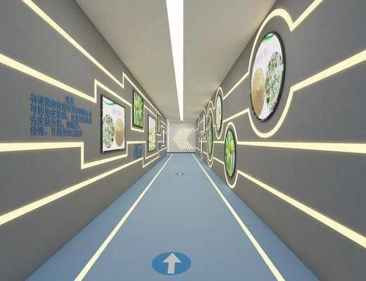 走廊, 过道, 现代走廊过道