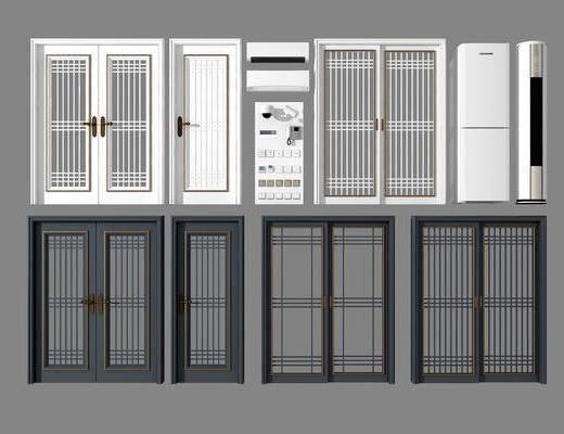 单开门, 双开门, 冰箱空调, 单开门组合, 现代