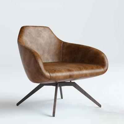 单人沙发, 休闲椅, 单椅