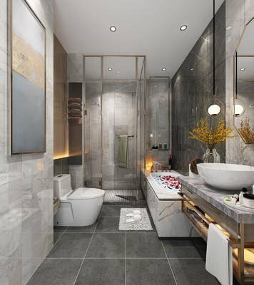 衛生間, 衛浴