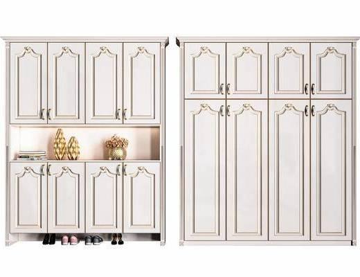 衣柜, 鞋柜, 置物柜, 衣柜组合