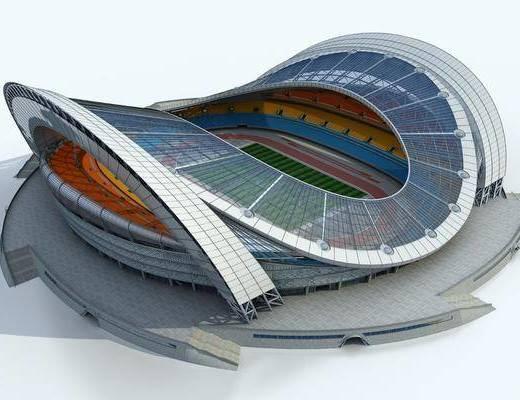 现代体育馆, 足球场