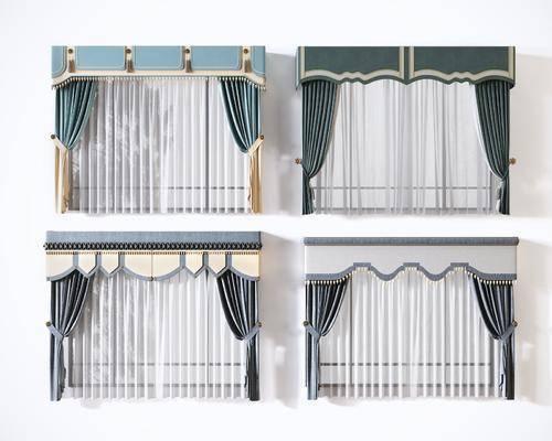 窗帘, 布艺窗帘, 门帘