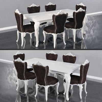 欧式餐桌椅, 沙发椅
