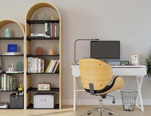 书柜, 书桌椅, 装饰柜, 置物柜