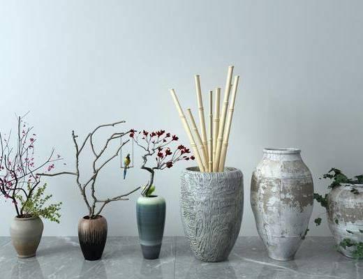 陶瓷, 器皿, 陶罐