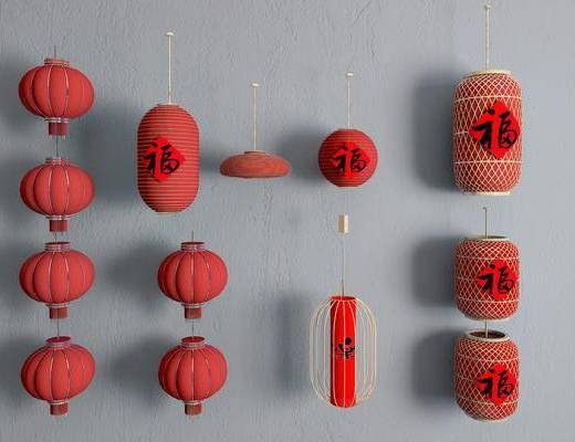 竹灯笼, 灯笼