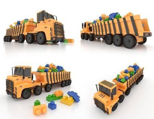 积木, 儿童用品, 玩具