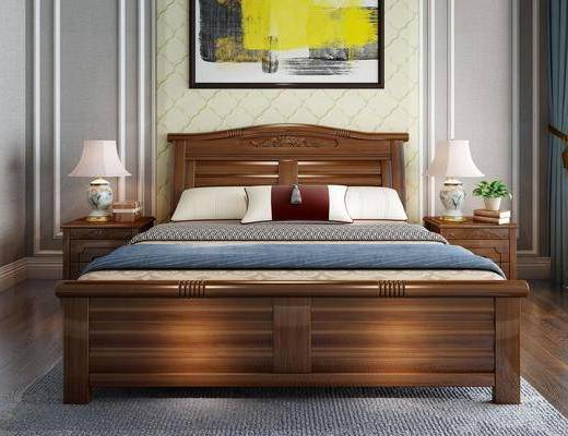 床具組合, 臺燈組合, 掛畫組合, 中式