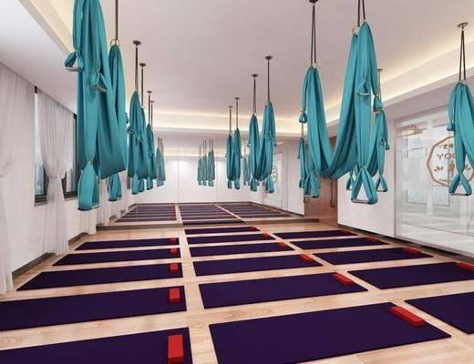 现代, 瑜伽室, 健身房