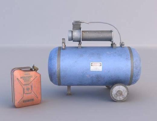 气泵, 油壶