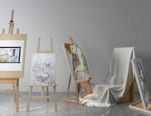 画板画具, 现代